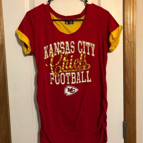 kansas city chiefs maternity shirt